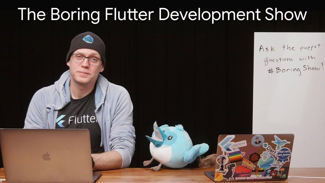 Building DashCast, a podcast app in Flutter (The Boring Flutter Development  Show, Ep  19)