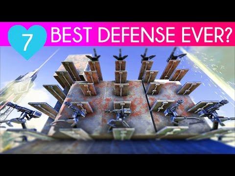SMARTEST VAULT WALL DESIGN   Ark Survival Evolved Let's Play   Season Alpha E7