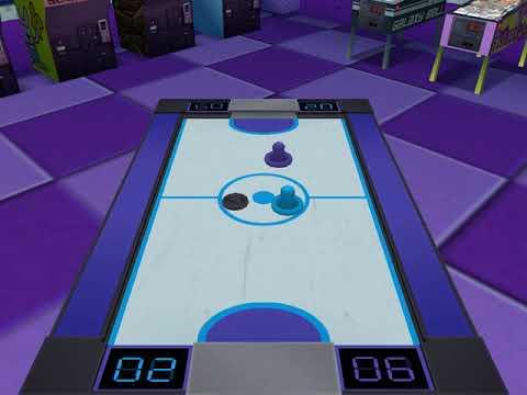 Backyard Hockey 2005 Gameplay 4 (Air Hockey) - YouTube