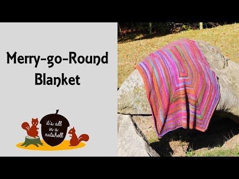 Merry-go-Round Blanket – Free Crochet Pattern