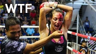 Bloody Female MMA Fight!! (Death)