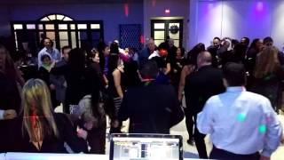 DJ Party de Noël de Bureau