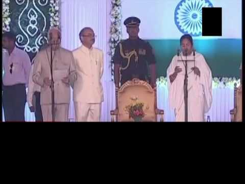 Mamata Banerjee takes oath as the Chief Minister of West Bengal