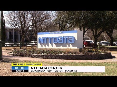First Amendment Audit - NTT Data Center - Plano, TX