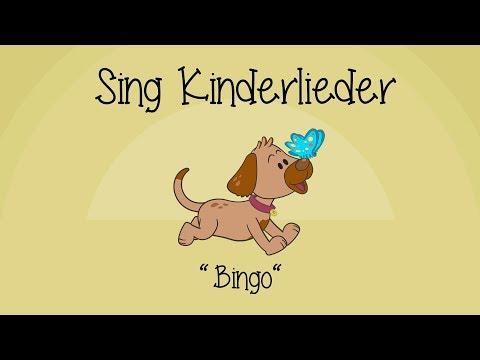 Bingo  (Ein Bauer hatte einen Hund) - Kinderlieder zum Mitsingen   Sing Kinderlieder