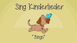 Bingo  (Ein Bauer hatte einen Hund) - Kinderlieder zum Mitsingen | Sing Kinderlieder