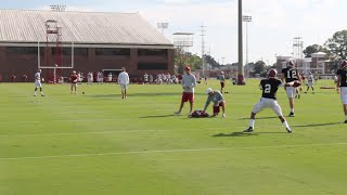 Alabama QBs preparing for Western Kentucky