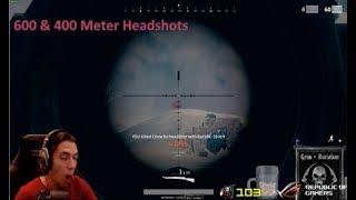 Grimmmz Battlegrounds Kar98 600amp400 Meter HeadShots