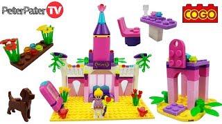 Cogo Girls Princess Toy Fairy Dreams Castle Building Blocks Construction Set Toys for Kids