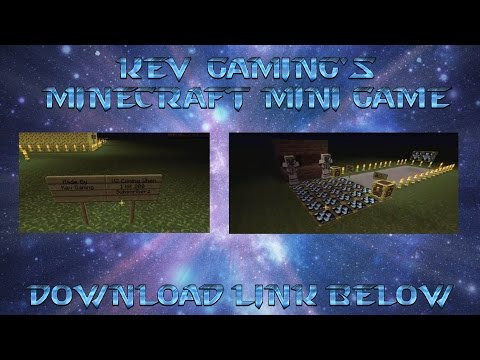 Kev Gaming's Minecraft Mini Game