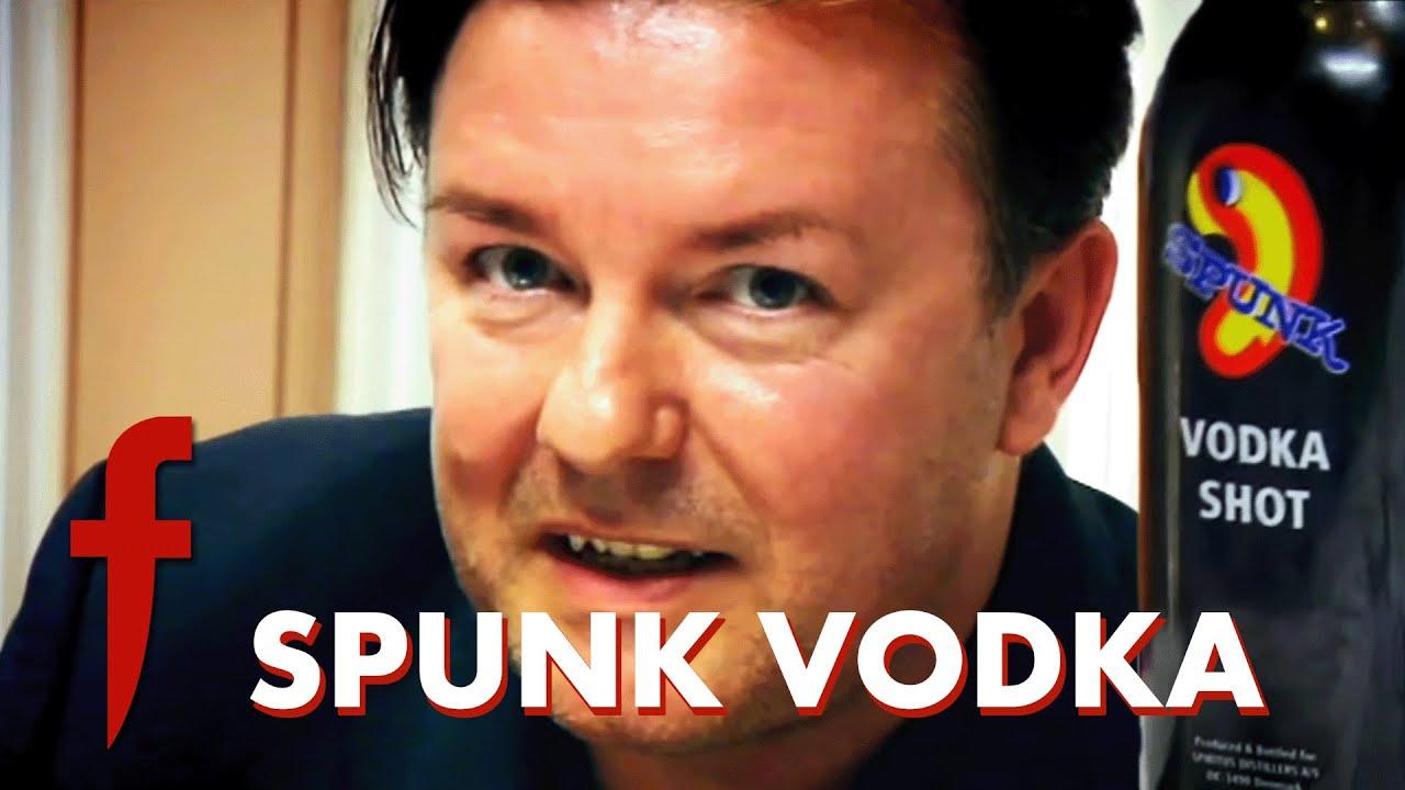 Ricky Gervais & Gordon Ramsay Try Spunk Vodka | The F Word