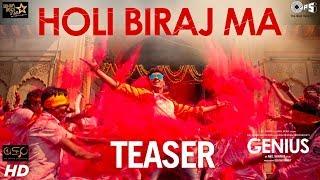 Holi Biraj Ma Official Teaser - Genius | Utkarsh, Ishita | Jubin, Himesh Reshammiya | Manoj