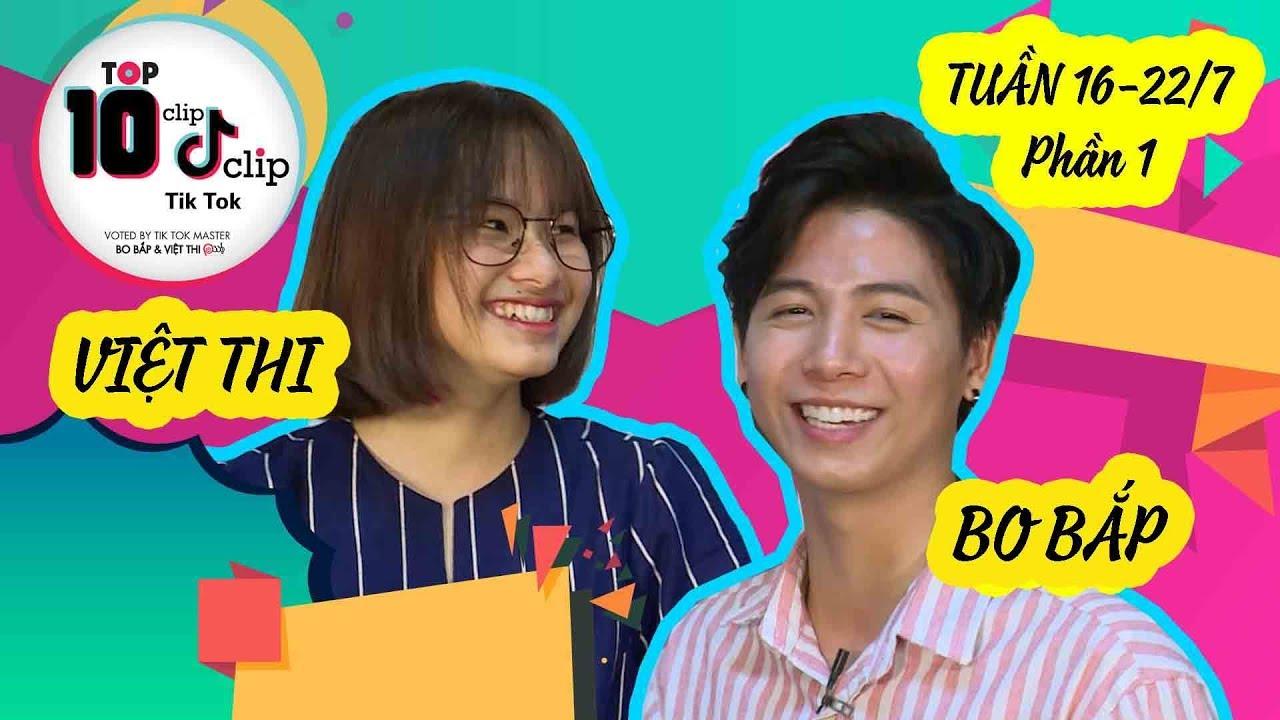 HOT TIK TOK tuần 16-22/7 Phần 1 | Việt Thi P336 choáng váng vì Bo Bắp Tik Tok quá đẹp trai