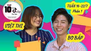 HOT TIK TOK tuần 16-22/7 | Việt Thi P336 choáng váng liên tục vì Bo Bắp Tik Tok quá đẹp trai 😘 - Stafaband