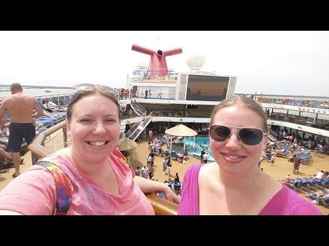 Boarding the CARNIVAL MAGIC Cruise Ship! [Travel vlog Day 1 ep 2]