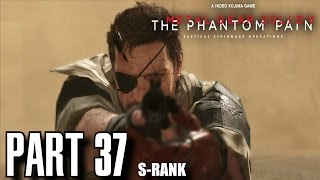Metal Gear Solid 5 The Phantom Pain Walkthrough Part 37 - Total Stealth Footprints of Phantoms