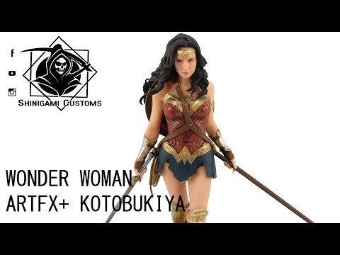 SC487  Kotobukiya ArtFX DC Justice League Wonder Woman