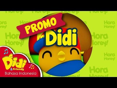 Lagu Anak-Anak | Didi & Friends | Hai Saya Didi!