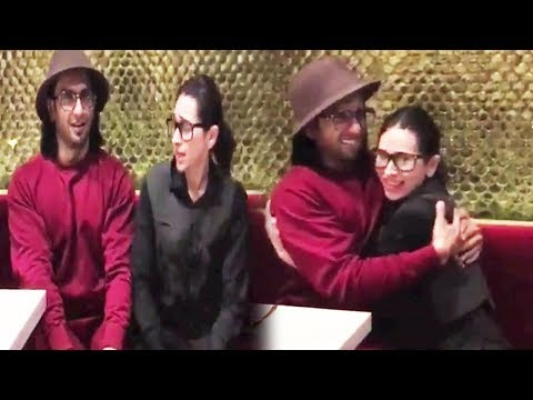 Karishma Kapoor and Ranveer Singh DANCING on 'Sarkai Lo Khatiya Jada Lage'