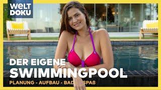 DIY POOLBAU - Swimmingpool selbst bauen   HD Doku