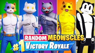 The *RANDOM* MEOWSCLES BOSS Challenge in Fortnite!