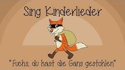 Fuchs, du hast die Gans gestohlen - Kinderlieder zum Mitsingen | Sing Kinderlieder