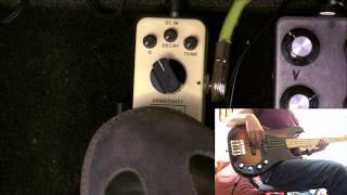 Mooer Envelope - Bass Demo