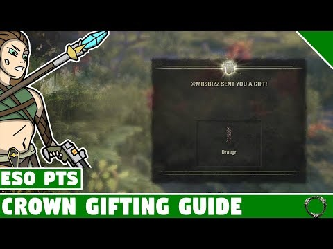 ESO Crown Store Gifting Guide! Gifting come to Elder Scrolls Online Summerset!