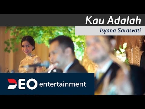 Kau Adalah - Isyana Sarasvati at Balai Sudirman | Cover by Deo Entertainment semi orchestra