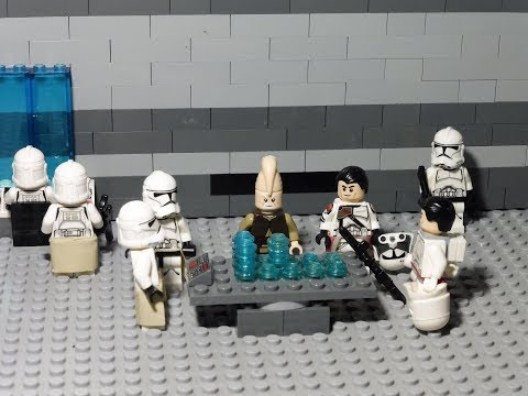 Star Wars Before The Dark Times Episode I : Mygeeto Campaign (Lego Star Wars Stop Motion/Brickfilm)