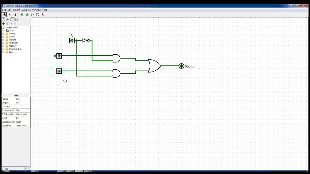 2 Input Multiplexer