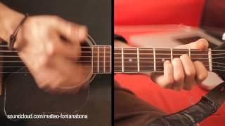 GUITAR LESSON - Flamenco Rumba Rhythm (chords A- F C E )