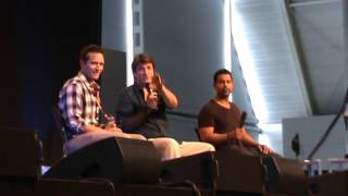 Nathan Fillion. Comic Con Germany