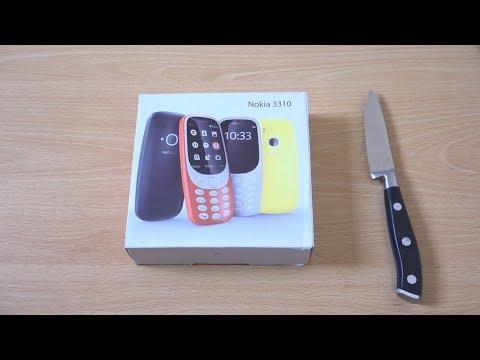 Fake Nokia 3310 2017 - Unboxing! (4K)