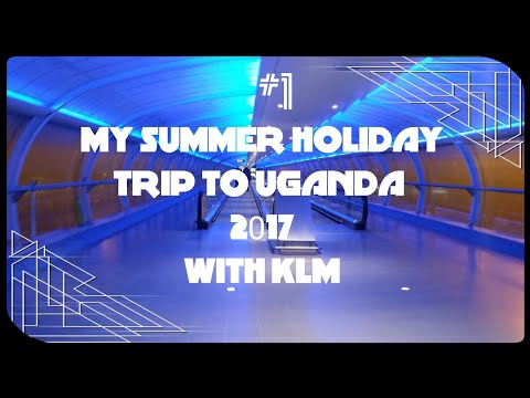 My KLM flight from Manchester to Uganda Part 1 (1/2)
