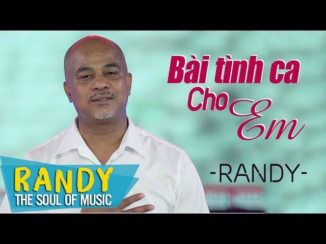 Bài Tình Ca Cho Em (St Ngô Th?y Miên) ? Randy