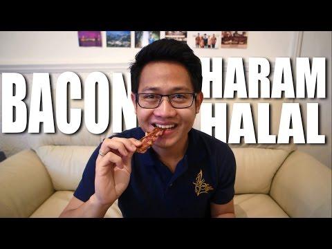 Pertama Kali Nyobain BACON, Haram/Halal???
