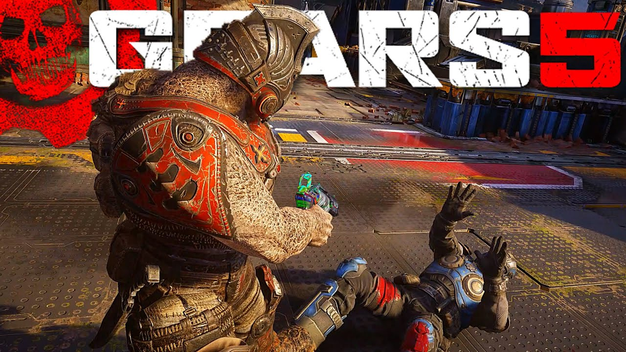 ALL BEATDOWN EXECUTIONS | WITH BOLTER DRONE | Gears Of War 5 thumbnail