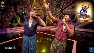Super Singer 16.06.2018 Senthil Ganesh & Benny Dayal Best Performance  For salomiya song