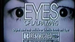 Eyes of Laura Mars 1978 TV trailer