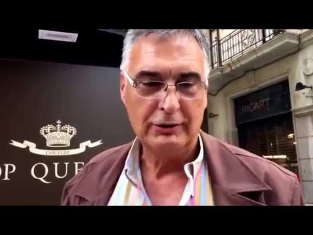 Luis Miguel Santillana exjugador de baloncesto nos visita en la inauguración de Top Queens Reus?