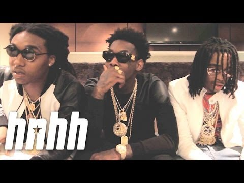 """Migos 4/20 Interview After Dropping """"Streets On Lock 3"""""""