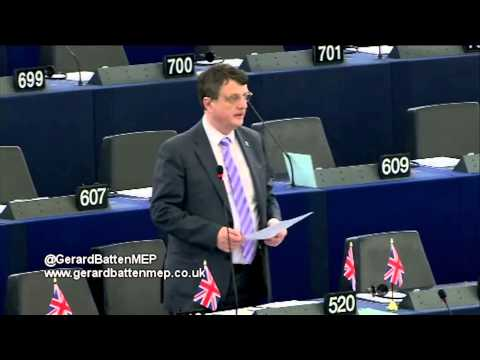 Making vast amounts of money available to the institutionally corrupt - Gerard Batten MEP
