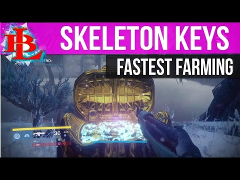 How to FARM SKELETON KEYS FASTEST WAY in Rise of Iron | Destiny How to Get Skeleton Keys Guide