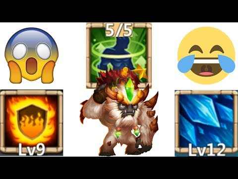 5/5 Holy Conviction | Sasquatch | 9/9 Flame Guard | 8/8 Sacred Light | Crazy Healing | Castle Clash