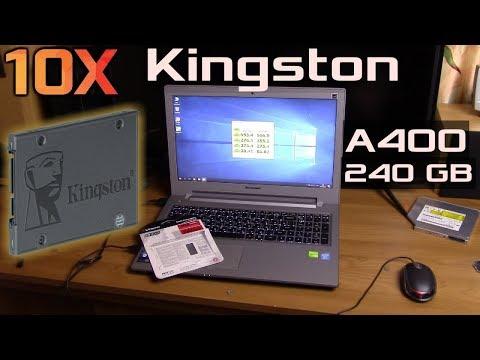 Ускоряем ноутбук в 10 раз с SSD Kingston A400 + КОНКУРС НА 3 SSD