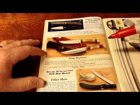 Will I Choose This or That? - Cutlery Catalog ASMR