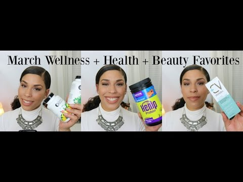 March 2016 Health + Wellness + Beauty Favorites