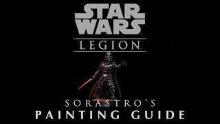 Star Wars Legion Painting Guide Ep.6: Darth Vader