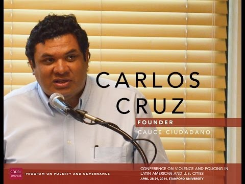 Carlos Cruz, Founder, Cauce Ciudadano